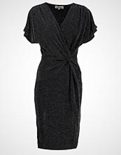 Louche SHAELA Jerseykjole black/silver
