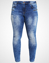 Zizzi SANNA Slim fit jeans blue denim