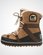 Sorel GLACY EXPLORER SHORTIE Snørestøvletter light brown