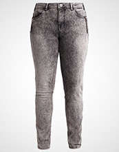 Zizzi SANNA Slim fit jeans grey denim