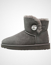 UGG Australia MINI BAILEY BUTTON BLING Støvletter grey