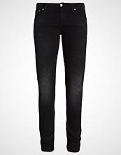 Nudie Jeans LONG JOHN Straight leg jeans black coyote