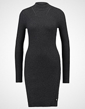 G-Star GStar LYNN TURTLE DRESS KNIT L/S Strikket kjole black heather