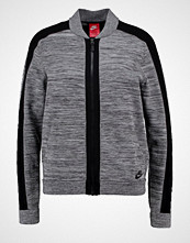 Nike Sportswear Bombejakke dark grey heather/wolf grey/black