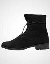 Marco Tozzi Snørestøvletter black