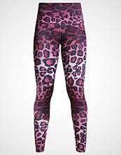 Onzie Tights purple cheetah