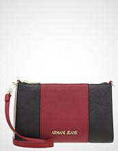 Armani Jeans BAGUETTE Skulderveske burgundy/nero/grigio
