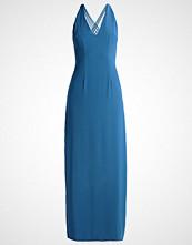 Miss Parisienne Fotsid kjole blau