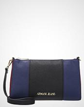 Armani Jeans BAGUETTE Skulderveske nero/blue/burgundy