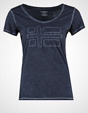 Napapijri SHOVE Tshirts med print blu marine