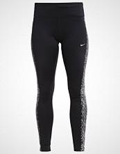 Nike Performance POWER EPIC FLASH Tights schwarz/silber