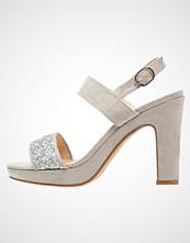 Anna Field Sandaler med høye hæler silver