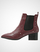 Missguided Ankelboots burgundy