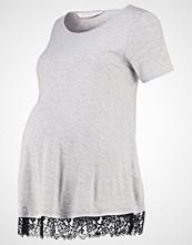 DP Maternity Tshirts med print grey