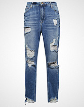 Only ONLZACH Straight leg jeans light blue denim
