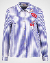Vero Moda VMGRETCHEN Skjorte snow white/denim blue