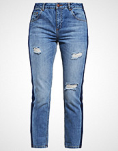 Miss Selfridge Straight leg jeans mid denim