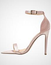 Missguided Sandaler med høye hæler champagne
