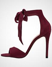 ALDO BELIDDA Sandaler med høye hæler bordeau