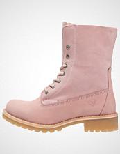 Tamaris Snørestøvletter light pink