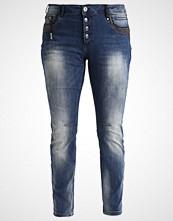 Zizzi NILLE Slim fit jeans dark blue