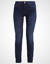 Calvin Klein HIGH RISE SKINNY Slim fit jeans dark blue denim
