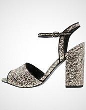 Office SHOWTIME Sandaler champagne glitter