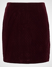 New Look Miniskjørt dark burgundy