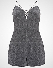 Miss Selfridge Petite CROSS  Jumpsuit metallic