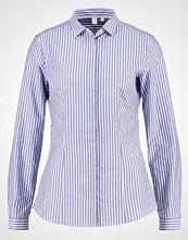 Seidensticker Skjorte dunkelblau/weiß