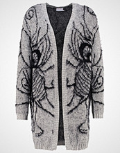 Kaffe Cardigan grey melange/black