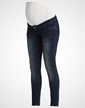 Mamalicious MLCRAKLE Slim fit jeans dark blue denim