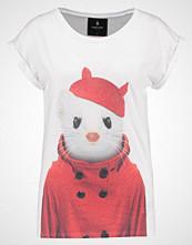 Saint Noir LITTLE STOAT Tshirts med print white