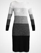 talkabout Strikket kjole grey steel/black