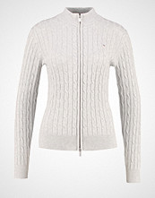Gant Cardigan light grey melange