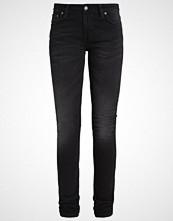 Nudie Jeans LIN Jeans Skinny Fit black waves
