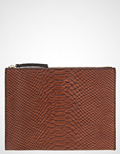 Banana Republic Clutch dark brown