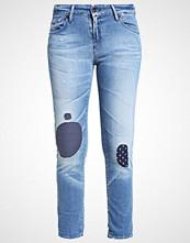 Denham MONROE Slim fit jeans destroyed denim