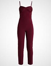 Miss Selfridge Jumpsuit burgundy