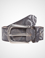 b.belt Belte anthrazit metallic