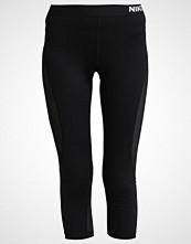 Nike Performance 3/4 sports trousers black/pure platinum