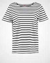 Armor-Lux MARINIÈRE HERITAGE Tshirts med print blanc/richnavy