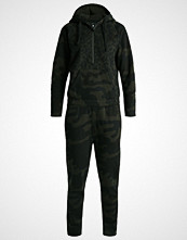 G-Star GStar SASIL STRAIGHT SUIT L/S Jumpsuit asfalt/carbon