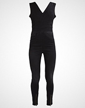G-Star GStar LYNN ZIP GRIP JUMPSUIT S/LESS Jumpsuit slander black superstretch