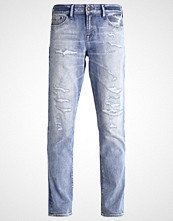 Denham MONROE Straight leg jeans destroyed denim