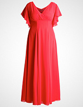 Swing Curve Fotsid kjole hibiscus
