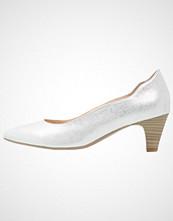Caprice Klassiske pumps silver metallic