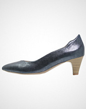 Caprice Klassiske pumps ocean metallic