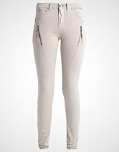 Cream BIBIANA  Slim fit jeans nature gray
