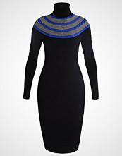 Karen Millen Strikket kjole black/multi